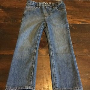 Toddler boy basic bootcut jean